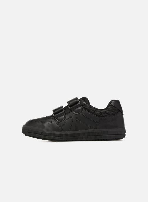 Sneakers Geox J Arzach Boy J844AE Zwart voorkant