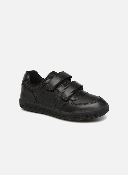 Sneakers Geox J Arzach Boy J844AE Zwart detail
