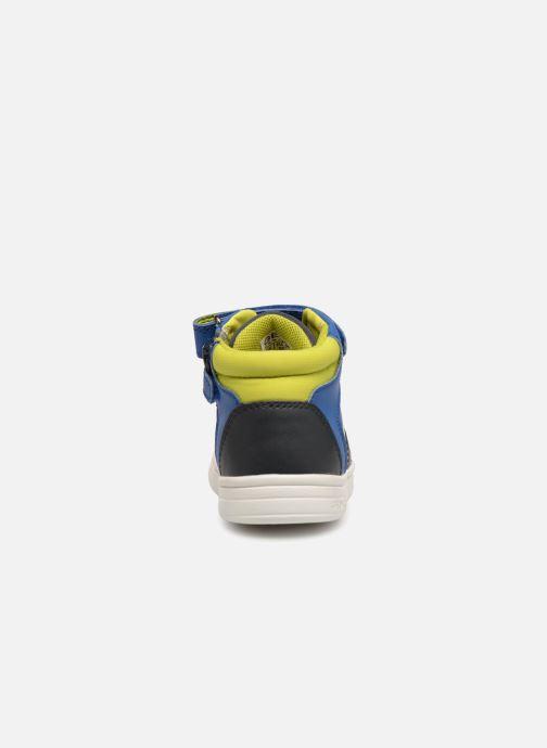 Sneakers Geox B Djrock Boy B842CA Azzurro immagine destra