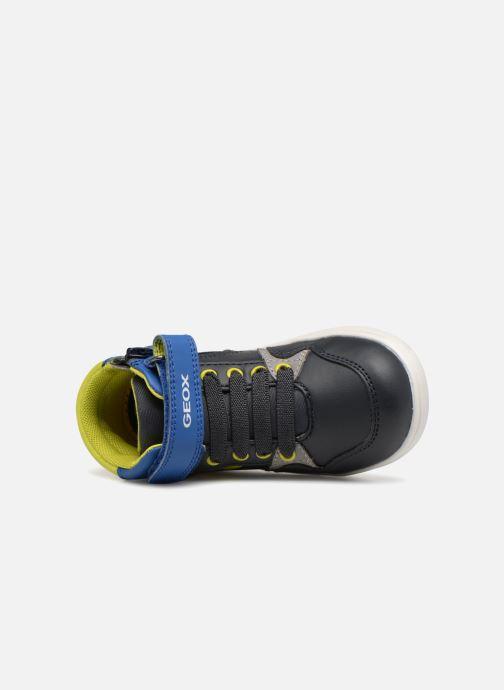 Sneakers Geox B Djrock Boy B842CA Azzurro immagine sinistra