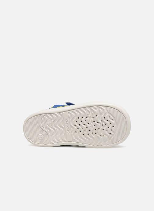 Sneakers Geox B Djrock Boy B842CA Azzurro immagine dall'alto
