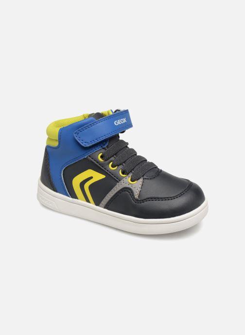 Sneakers Geox B Djrock Boy B842CA Azzurro vedi dettaglio/paio