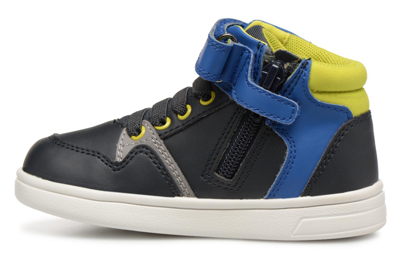 Baskets Geox B Djrock Boy B842CA Bleu vue face