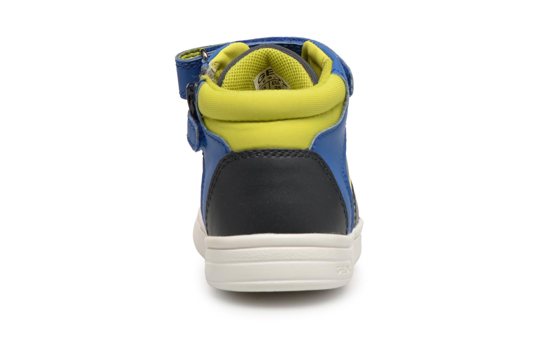 Baskets Geox B Djrock Boy B842CA Bleu vue droite