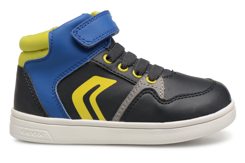 Sneakers Geox B Djrock Boy B842CA Azzurro immagine posteriore