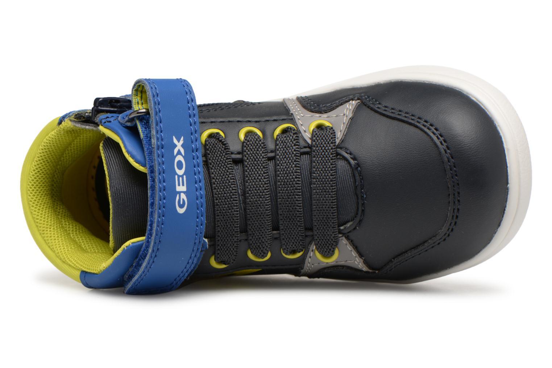 Baskets Geox B Djrock Boy B842CA Bleu vue gauche