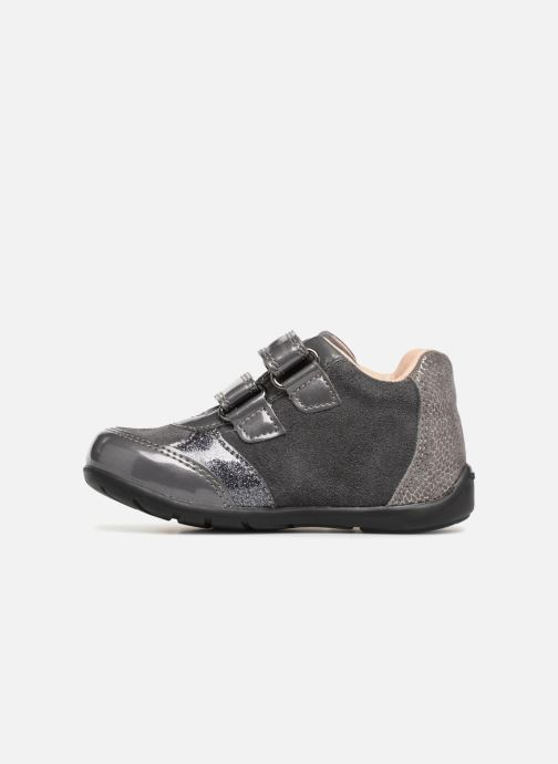 Ankle boots Geox B Kaytan B8451A Grey front view
