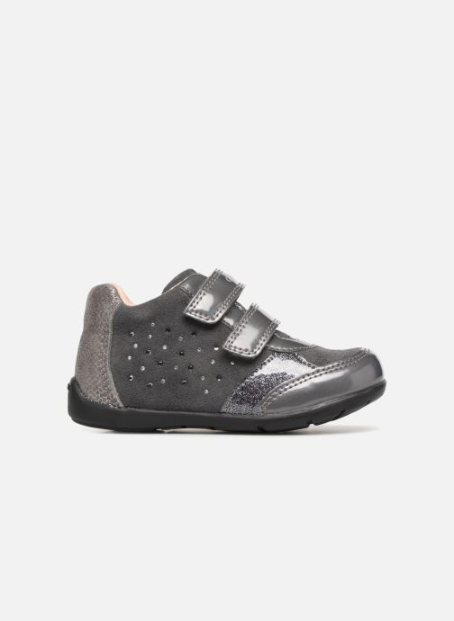 Ankle boots Geox B Kaytan B8451A Grey back view
