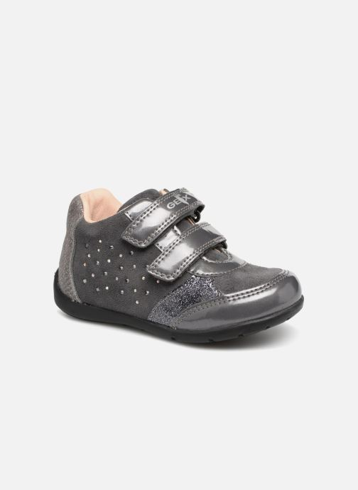 Ankle boots Geox B Kaytan B8451A Grey detailed view/ Pair view