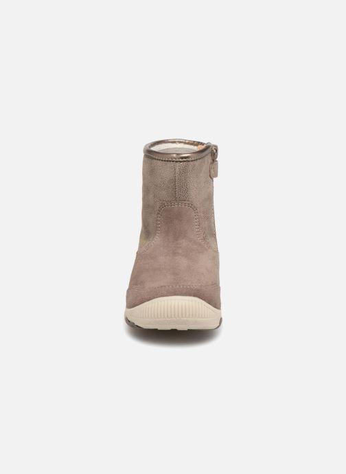 Boots & wellies Geox B New Balu Girl B840QD Beige model view