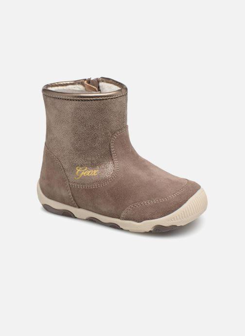 Boots & wellies Geox B New Balu Girl B840QD Beige detailed view/ Pair view