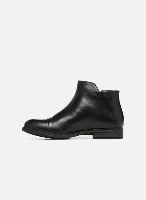Bottines et boots Geox JR Agata J8449C Noir vue face