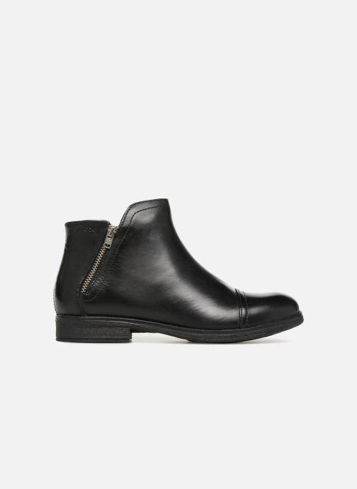 Bottines et boots Geox JR Agata J8449C Noir vue derrière