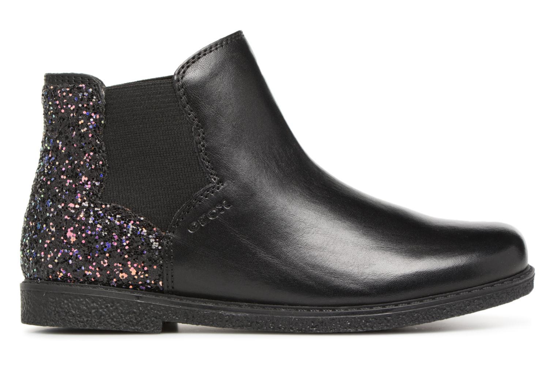 Stiefeletten & Boots Geox J Shawntel Girl J844EB schwarz ansicht von hinten