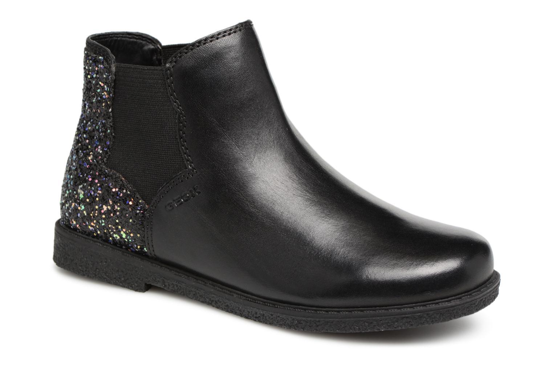 Stiefeletten & Boots Geox J Shawntel Girl J844EB schwarz detaillierte ansicht/modell