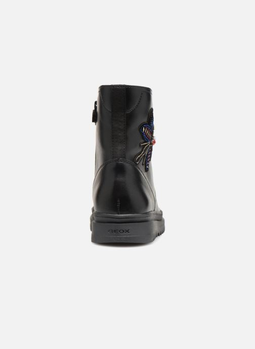 Ankle boots Geox J Gillyjaw Girl J847XA Black view from the right