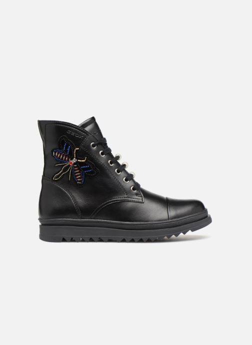 Ankle boots Geox J Gillyjaw Girl J847XA Black back view
