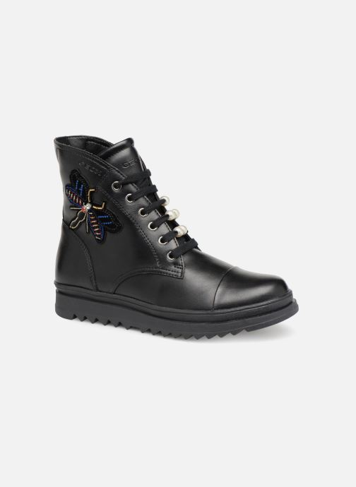 Ankle boots Geox J Gillyjaw Girl J847XA Black detailed view/ Pair view