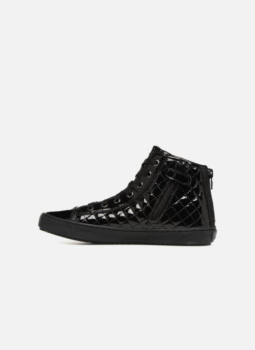 Sneaker Geox J Kalispera Girl J744GF schwarz ansicht von vorne
