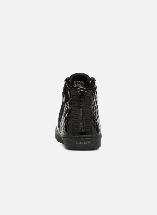 Sneaker Geox J Kalispera Girl J744GF schwarz ansicht von rechts