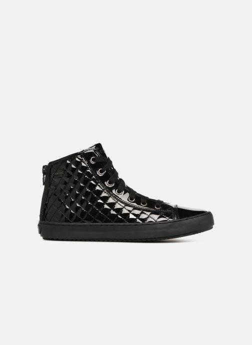 Sneaker Geox J Kalispera Girl J744GF schwarz ansicht von hinten
