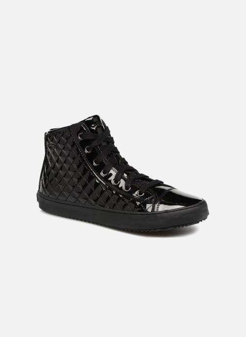 Sneaker Geox J Kalispera Girl J744GF schwarz detaillierte ansicht/modell