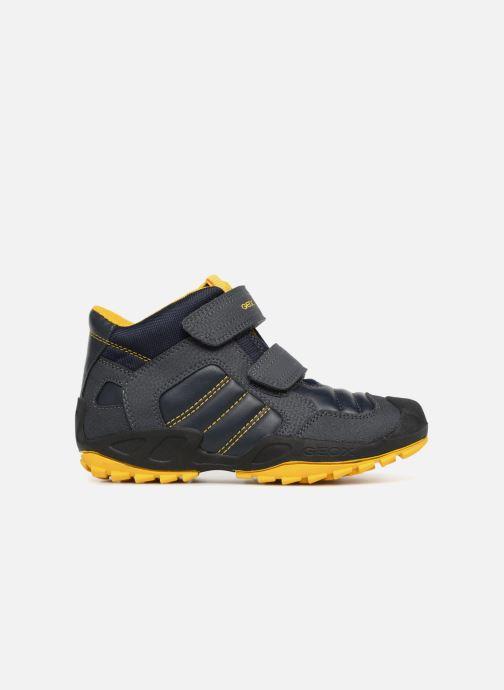 Sneaker Geox J New Savage Boy J841VC blau ansicht von hinten