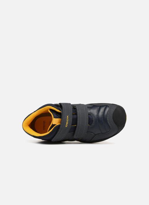 Sneaker Geox J New Savage Boy J841VC blau ansicht von links
