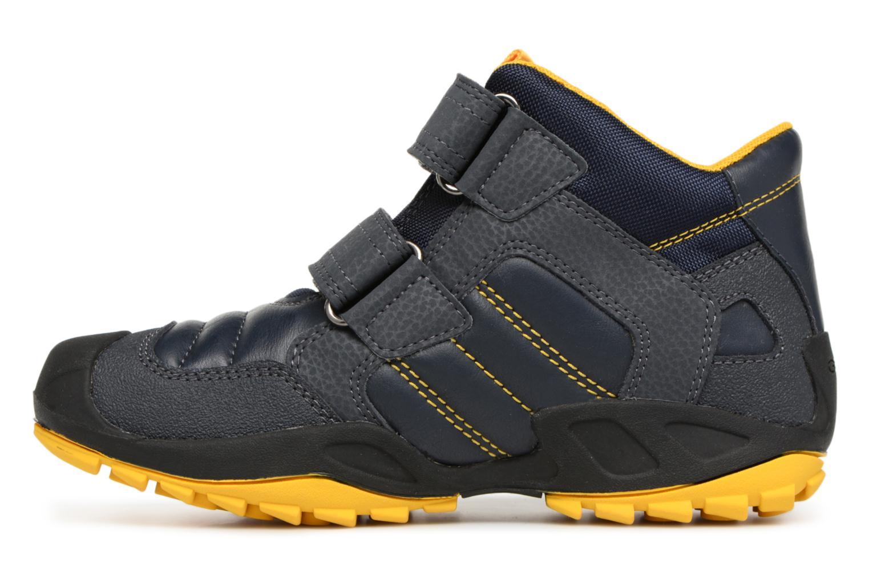 Sneaker Geox J New Savage Boy J841VC blau ansicht von vorne