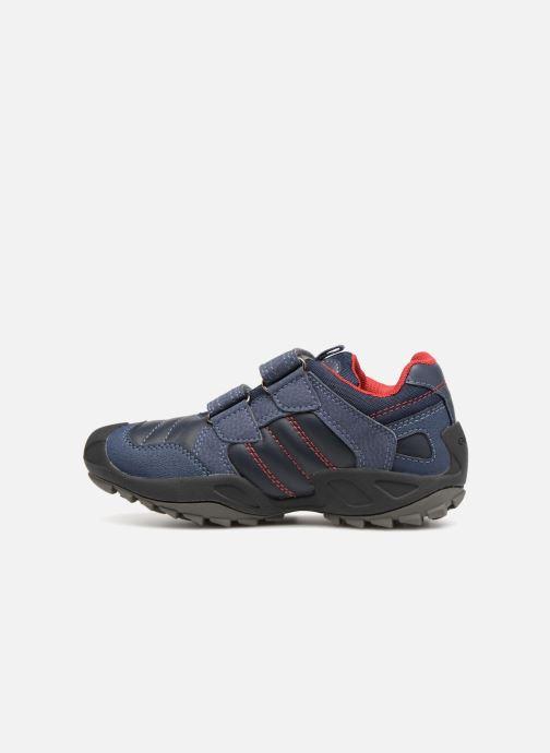 Sneakers Geox J New Savage Boy J841VA Blauw voorkant