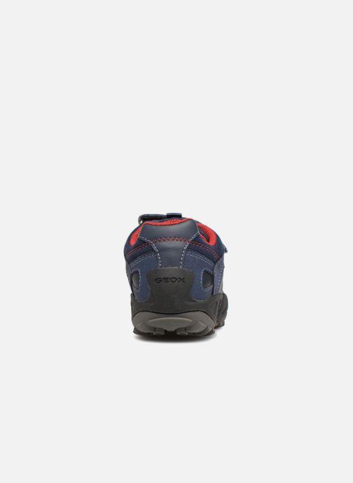 Sneakers Geox J New Savage Boy J841VA Blauw rechts