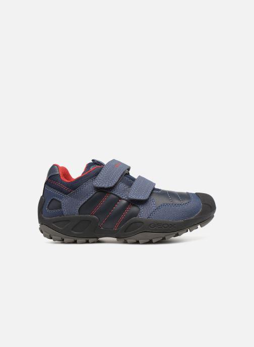 Sneakers Geox J New Savage Boy J841VA Blauw achterkant