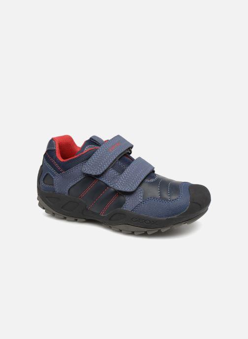Sneakers Geox J New Savage Boy J841VA Blauw detail
