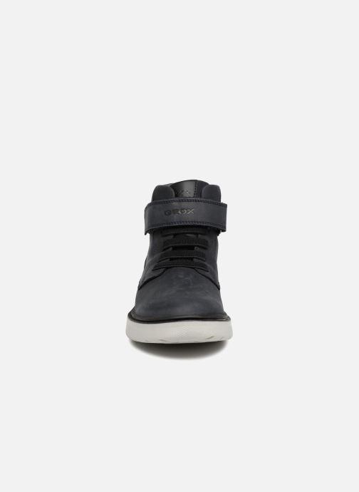 Bottines et boots Geox J Riddock Boy WPF J847TA Bleu vue portées chaussures