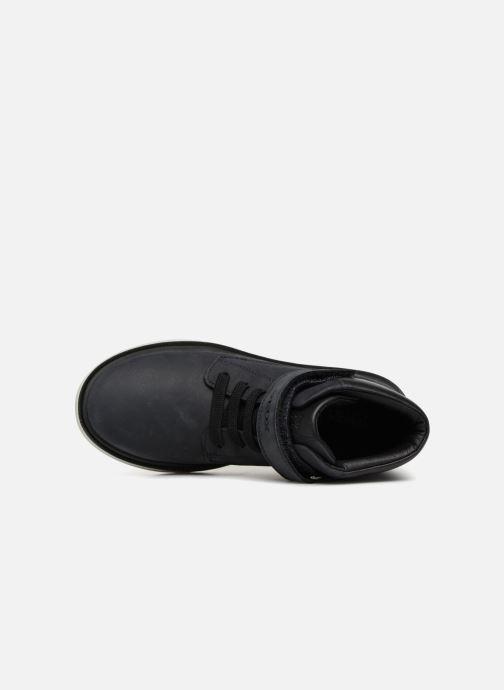 Boots en enkellaarsjes Geox J Riddock Boy WPF J847TA Blauw links