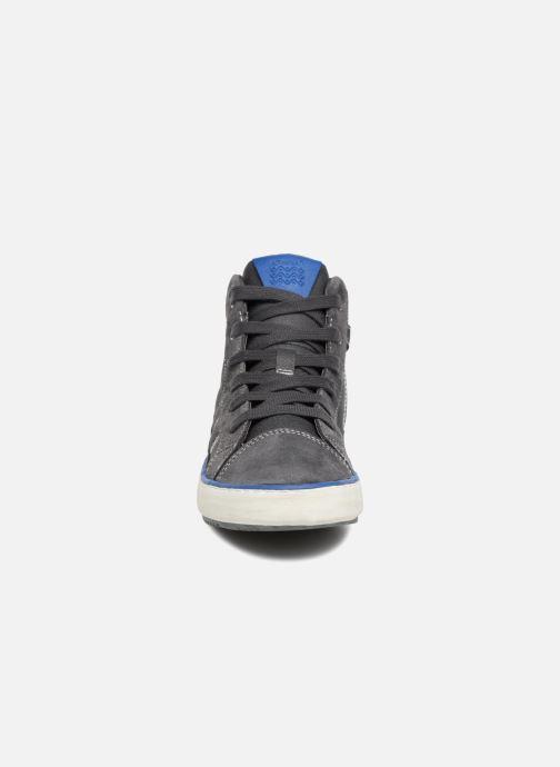 Sneaker Geox J Alonisso Boy J842CB grau schuhe getragen