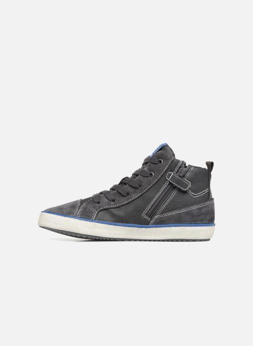 Sneaker Geox J Alonisso Boy J842CB grau ansicht von vorne