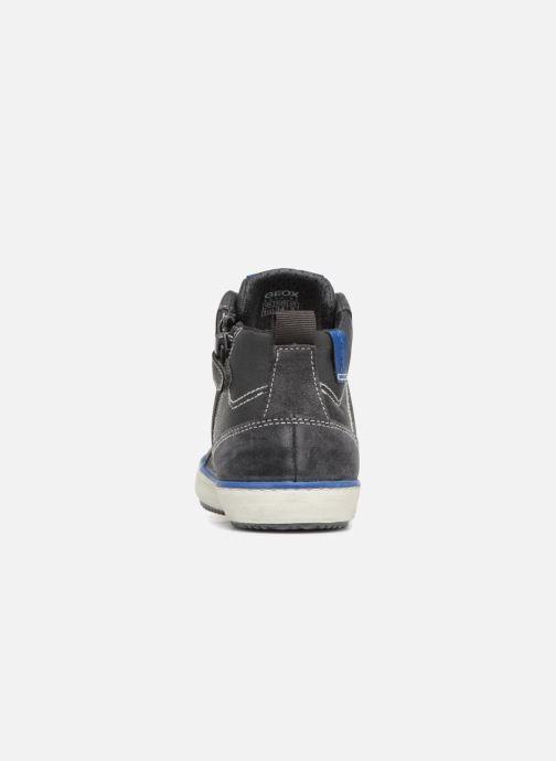 Sneaker Geox J Alonisso Boy J842CB grau ansicht von rechts