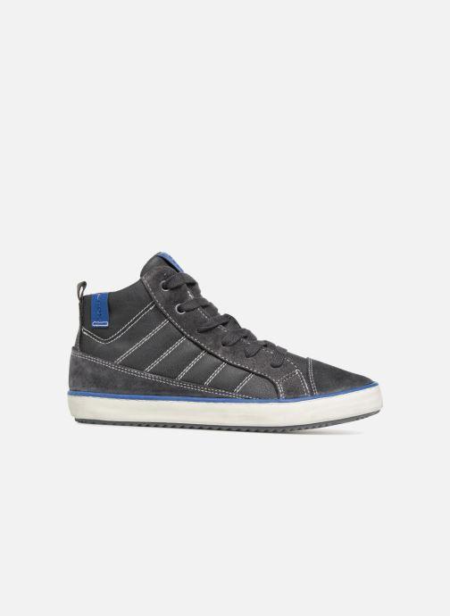 Sneaker Geox J Alonisso Boy J842CB grau ansicht von hinten