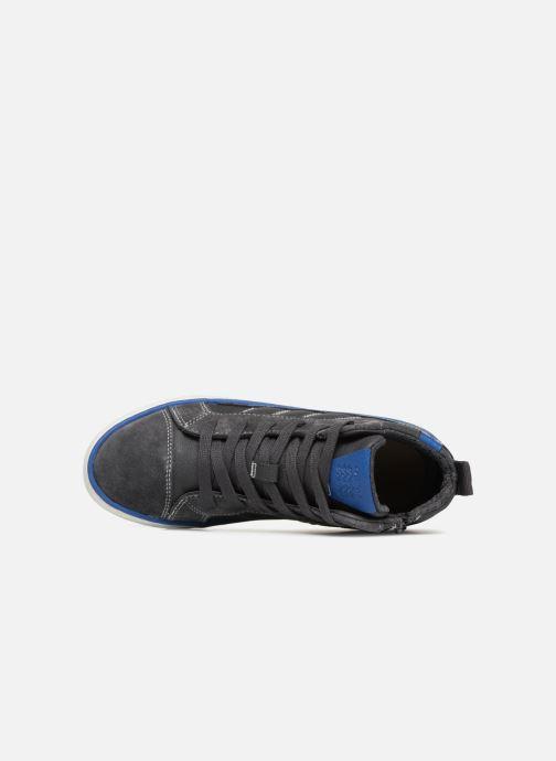 Sneaker Geox J Alonisso Boy J842CB grau ansicht von links