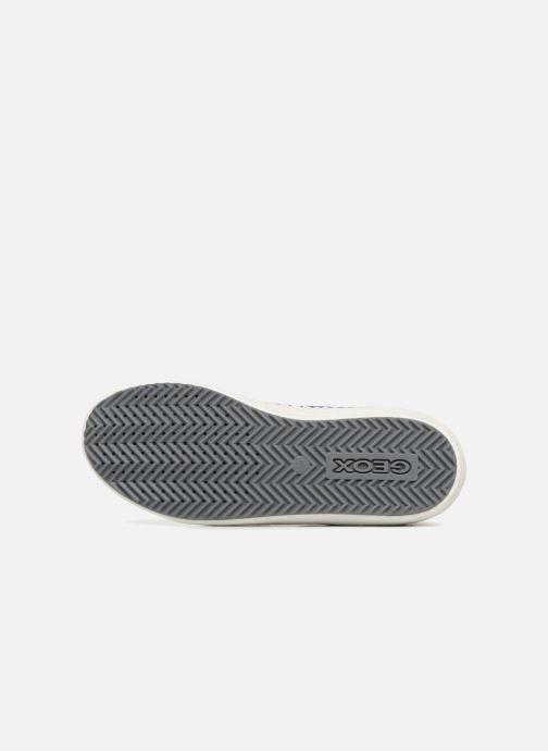 Sneaker Geox J Alonisso Boy J842CB grau ansicht von oben
