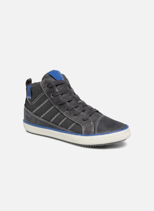 Sneaker Geox J Alonisso Boy J842CB grau detaillierte ansicht/modell