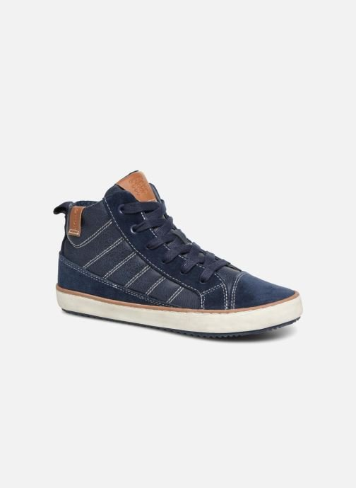 Trainers Geox J Alonisso Boy J842CB Blue detailed view/ Pair view