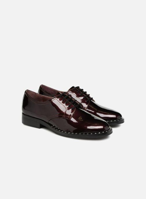 Chaussures à lacets Ash Wilco Bordeaux vue 3/4