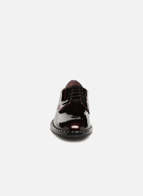Chaussures à lacets Ash Wilco Bordeaux vue portées chaussures