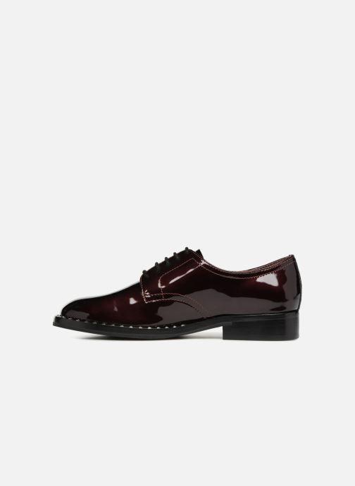 Chaussures à lacets Ash Wilco Bordeaux vue face