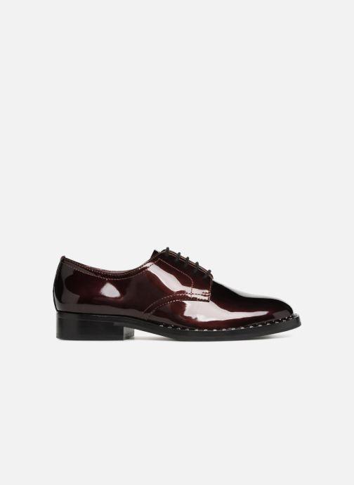 Chaussures à lacets Ash Wilco Bordeaux vue derrière