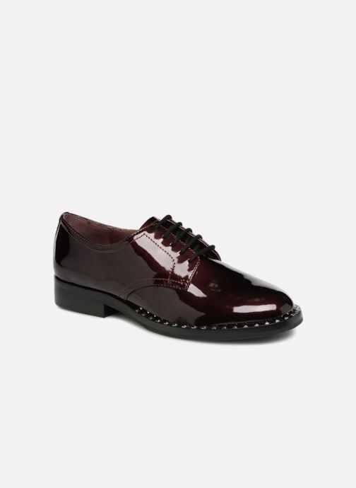 Chaussures à lacets Ash Wilco Bordeaux vue détail/paire