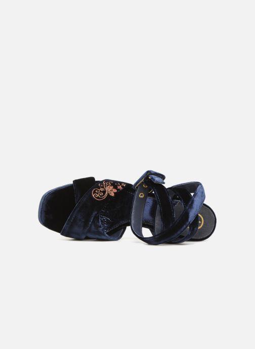 Sandales et nu-pieds Ash Boom Butterfly Bleu vue gauche