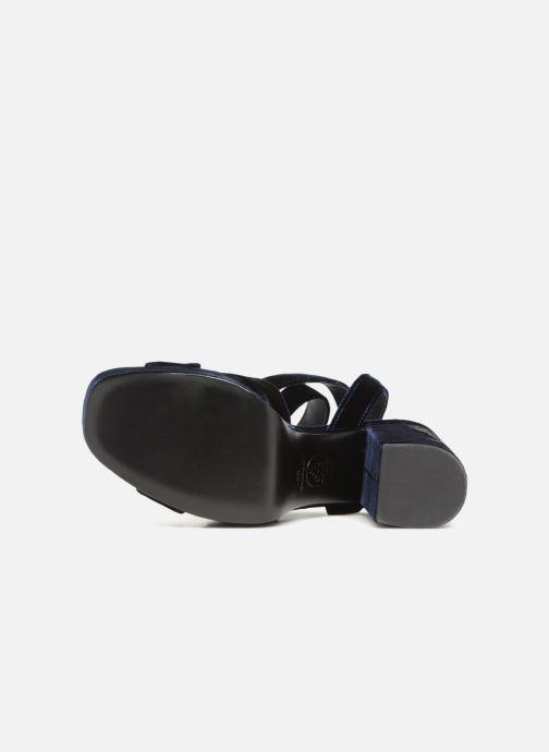 Sandales et nu-pieds Ash Boom Butterfly Bleu vue haut